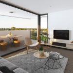 THREE Nundah Artist's Apartment Render