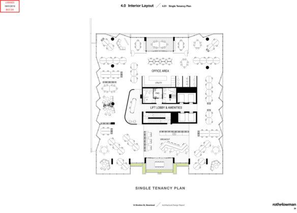 Single tenancy plan