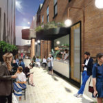 Artist's impression of Aria's proposed Ulster Lane redevelopment