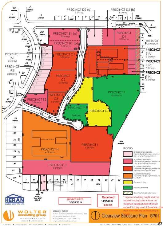 Clearview Urban Village -Masterplan