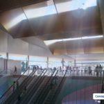 Artist's conceptual impression of Boggo Road station
