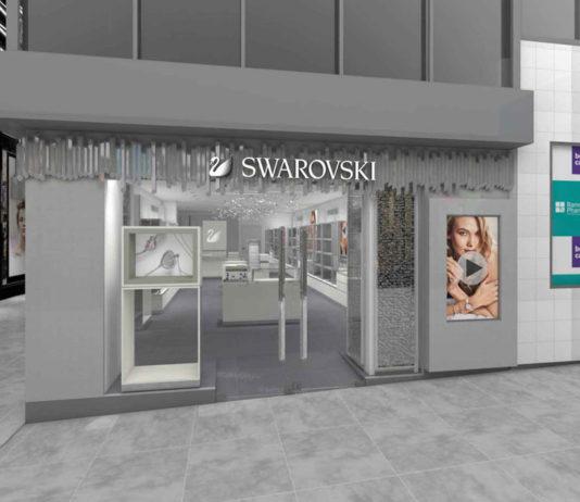 Artist's impression of new Swarovski CBD store