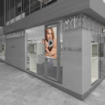 Artist's impression of new Swarovski CBD store