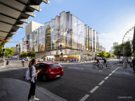 Artist's impression of the new Queensland performing arts venue