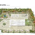 Proposed ground level of Aria's 470-480 Main Street, Kangaroo Point