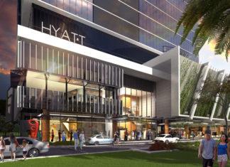 Artist's impression of new Hyatt Place
