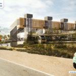 Artist's impression of upgraded Salisbury Station