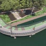 Artist's impression of new Botanic Gardens riverwalk project