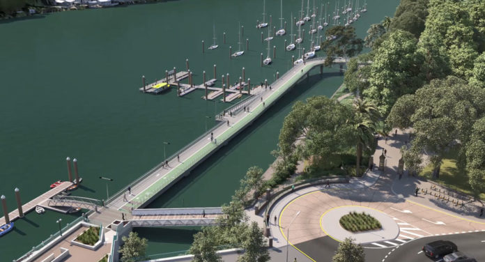 Artist's impression of new Botanic Gardens riverwalk project