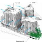 Artist's impression of proposed 108 Lambert Street, Kangaroo Point