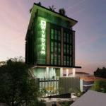Artist's impression of proposed Wyndham Garden Suites