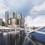 Artist's impression of the new Neville Bonner Bridge