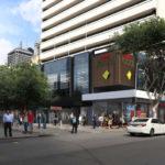 Artist's impression of 89 Adelaide Street facade refurbishment from Adelaide Street - PDOnline
