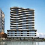 Artist's impression of Portside East tower 17