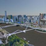 Model impression of the new Neville Bonner Bridge
