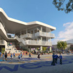 Artist's impression of West End State School Expansion (WESSEX)