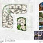 Building A's level 9 sky-garden level