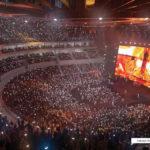 Inside Brisbane Live showing concert mode