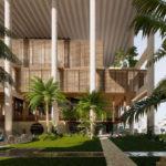 Architect's impression of 57 Coronation Drive proposal