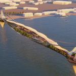Lwk+Partners 'Hanging Garden Bridge' design in Dubai