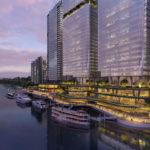 Artist's impression of Dexus' updated 'Brisbane Waterfront' proposal