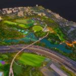 Initial Victoria Park vision design concept