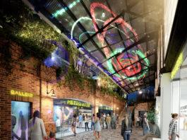 Artist's impression of new Metro Arts centre at West Village