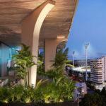 Artist's impression of proposed sky-garden outdoor cinema