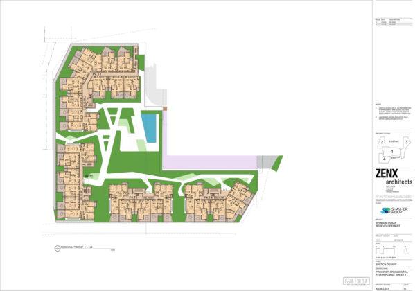 Residential precinct 4