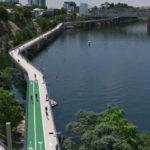 Artist's impression of the Indooroopilly Riverwalk