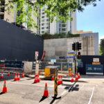 Demolition of 98 Albert Street for Cross River Rail's Albert street entry