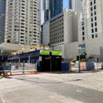 Demolition of buildings from 83-109 Albert Street