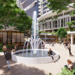 Artist's impression of Toowong Town Centre Development