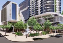 Artist's impression of Toowong Town Centre Development