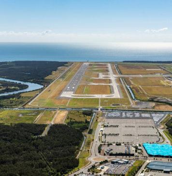 Brisbane Airport's new runway