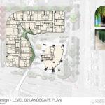 Level 2 landscape plan