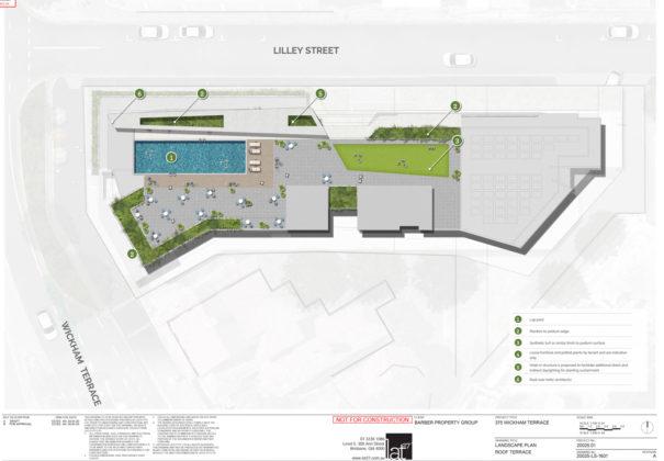 Rooftop Lat27 landscaping plan