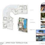Upper roof plan