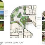 skypark landscape plan detail