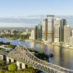 Artist's impression of Waterfront Brisbane development by Dexus