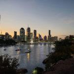 Artist's impression of Kangaroo Point bridge design