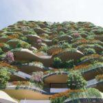 Artist's impression of Aria's Urban Forest development in South Brisbane