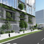 Architectural rendering of Thompson Street Health and Business Precinct