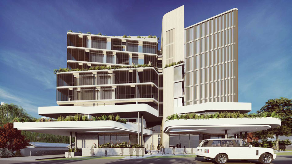 Architectural rendering of 20-22 Lambert Street, Indooroopilly