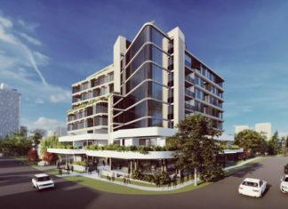 Architectural rendering of 20-22 Lambert Street, Indooroopilly