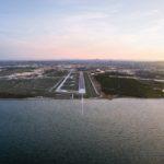 Brisbane Airport's newest runway