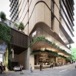 Architectural rendering of 60 Queen Street cross block laneway link
