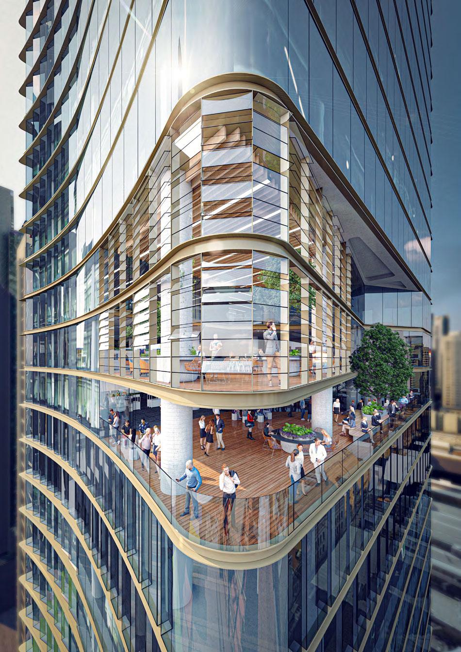 Architectural rendering of 60 Queen Street