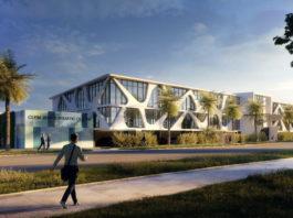 Architectual rendering of refurbished Clem Jones Aquatic Centre