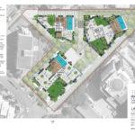 Updated landscape plan of 108 Lambert Street, Kangaroo Point